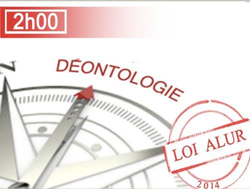 Déontologie loi alur