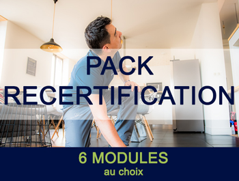 Pack recertification diagnostiqueur immobilier