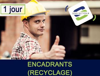 Formation AMIANTE SS4 encadrant recyclage